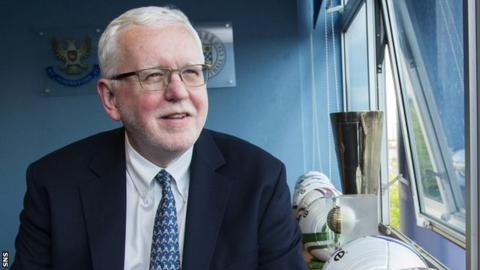 SPFL chairman Ralph Topping has criticised the BBC