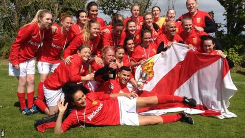 Jersey women's football team