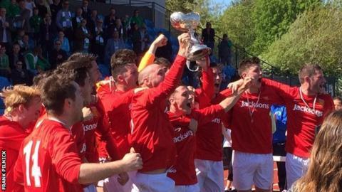 Jersey celebrate