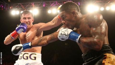 Unbeaten Gennady Golovkin defends his WBA Middleweight crown against Willie Monroe Jr in California