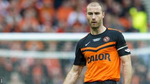 Dundee United captain Sean Dillon