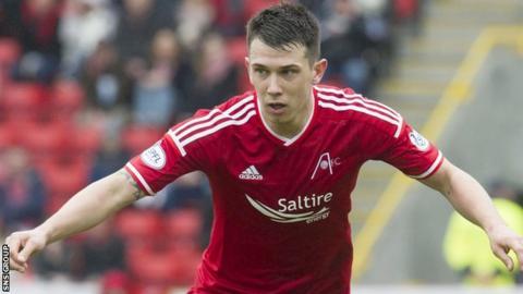 Aberdeen midfielder Ryan Jack