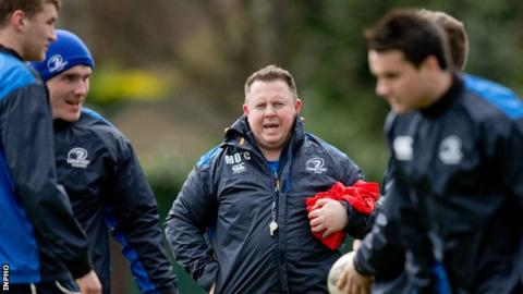 Matt O'Connor was Leicester coach before his move to Leinster