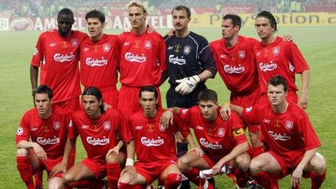 Steve Finnan was part of the Liverpool side which started the 2005 Champions League final in Istanbul