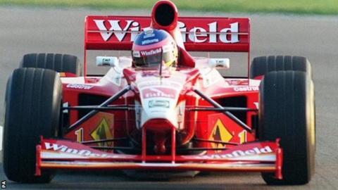 Jacques Villeneuve in 1998