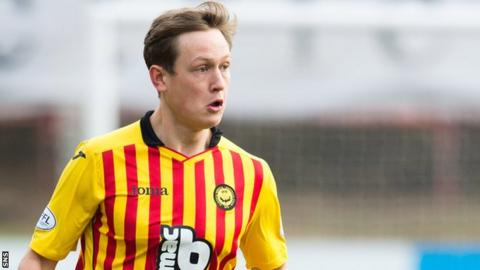 James Craigen in action for Partick Thistle