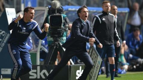 Hamburg boss Bruno Labbadia