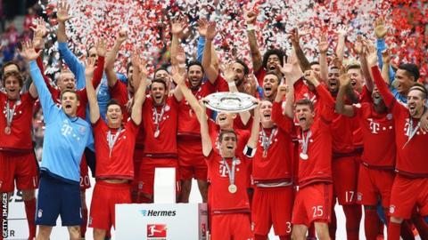 Bayern Munich players