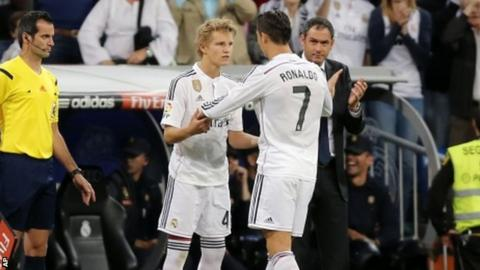 Cristiano Ronaldo, Martin Odegaard