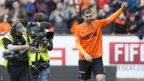 Dundee United striker Nadir Ciftci