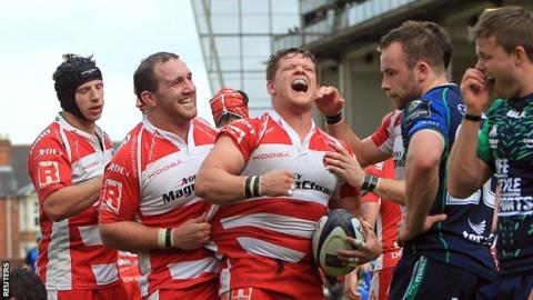 Champions Cup play-off: Gloucester 40-32 Connacht