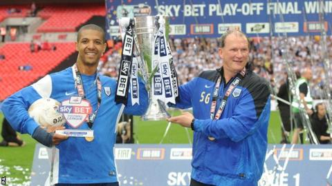 Jermaine Beckford and Simon Grayson