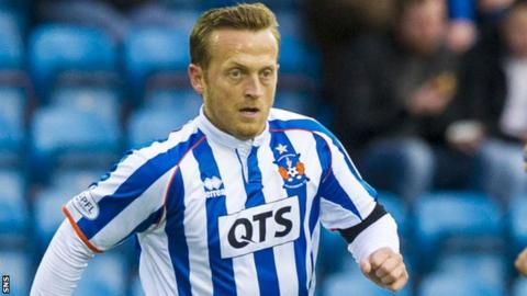 Sammy Clingan in action for Kilmarnock