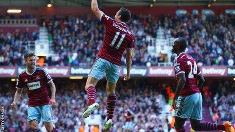 West Ham's Stewart Downing