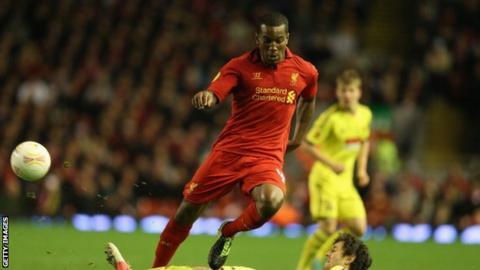 Liverpool defender Andre Wisdom