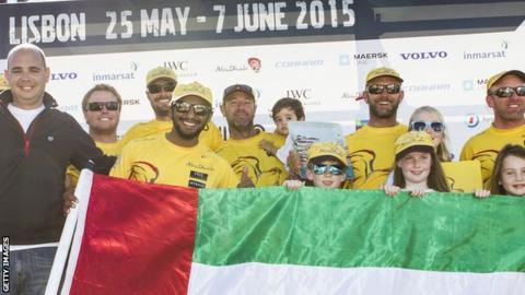 Abu Dhabi Ocean Racing retain lead in Volvo Ocean Race