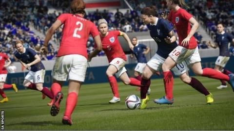 England play France on Fifa 16