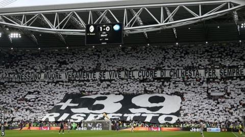 Juventus supporters