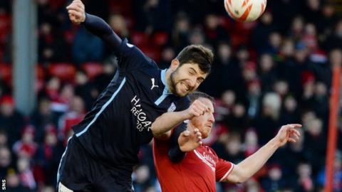 Kostadin Gadzhalov has made nine appearances for Dundee