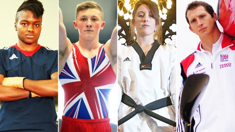 Nicola Adams, Nile Wilson, Jade Jones and Ed McKeever