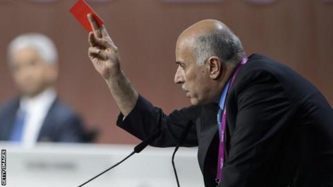 Palestinian football chief Jibril RJibril Rajoubajoub
