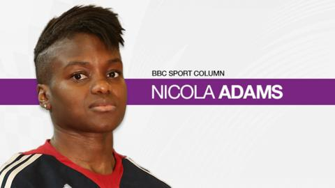 Nicola Adams column