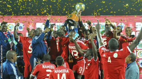 Namibia win the 2015 Cosafa Cup