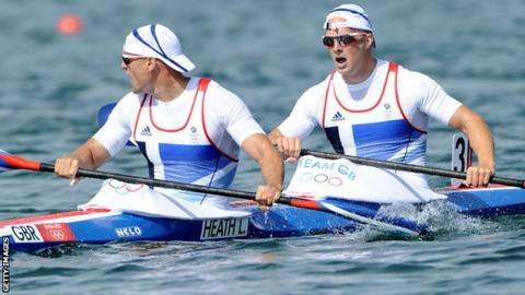 Liam Heath and Jon Schofield of GB