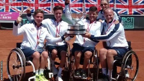 3edf92725 World Team Cup  GB men beat France to claim first world title - BBC ...