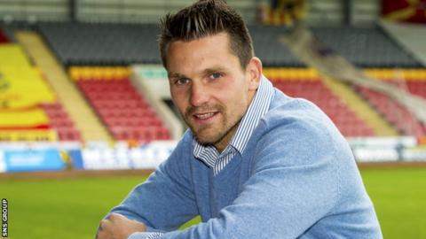 Tomas Cerny at Firhill