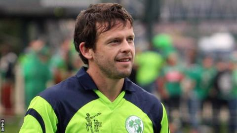 Ed Joyce of Ireland