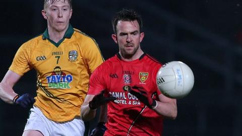 Mark Poland has handed Down a boost ahead of the Derry clash