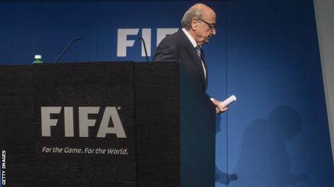Sepp Blatter exits as Fifa president