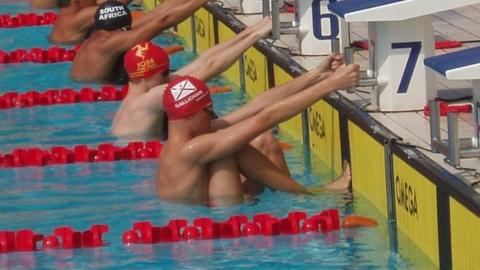 Jersey swimmer at 2008 Commonwealth Youth Games