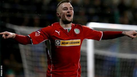 Jude Winchester has asked to be placed on the transfer list at Cliftonville.
