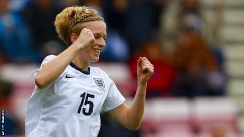 Liverpool and England forward Natasha Dowie