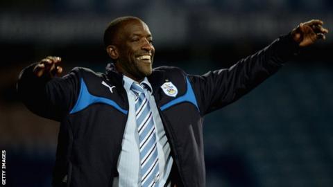 Huddersfield boss Chris Powell