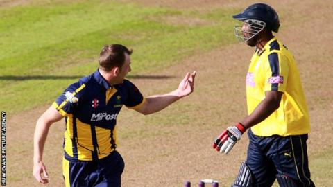 Graham Wagg (left) and Michael Carberry (right)