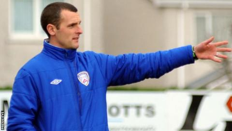 Oran Kearney has been given a one-year contract extension as Coleraine manager