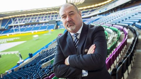 Scottish Rugby's chief executive Mark Dodson