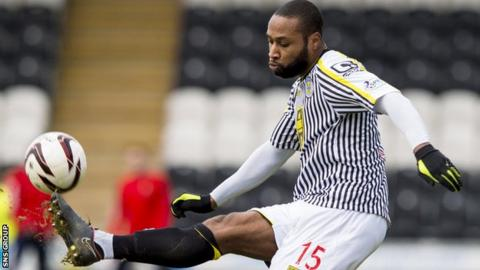 Yoann Arquin is leaving St Mirren