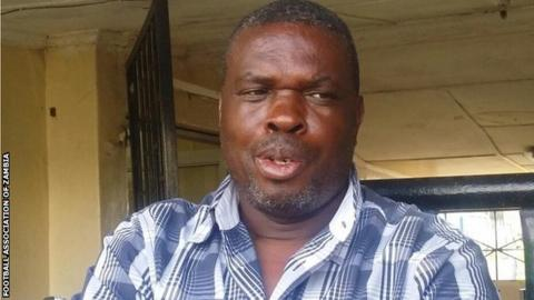 Zambia's caretaker coach George Lwandamina