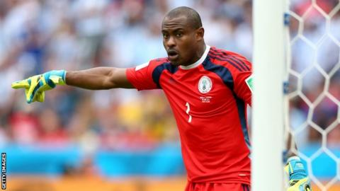 Vincent Enyeama of Nigeria