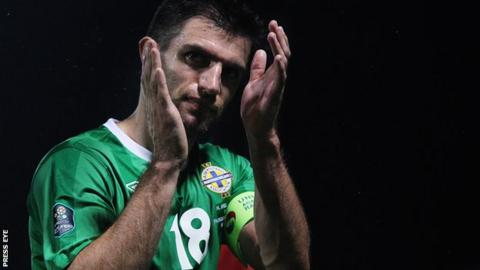 Northern Ireland defender Aaron Hughes is interested in a move abroad