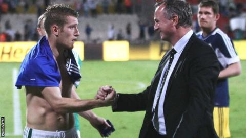 Steven Davis was installed as captain by NI manager Michael O'Neill following his appointment in 2012