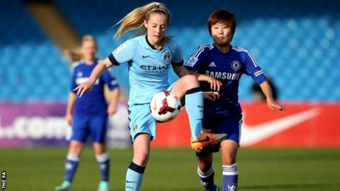 Manchester City Women forward Keira Walsh