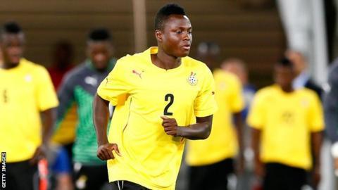 Ghana's Samuel Inkoom