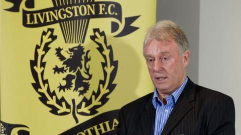 Gordon Ford holds a 40% shareholding of Livingston Football Club