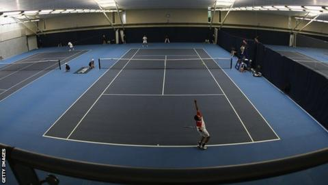 London's National Tennis Centre