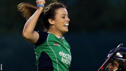 Aine Connery scored the winner for Ireland against Uruguay